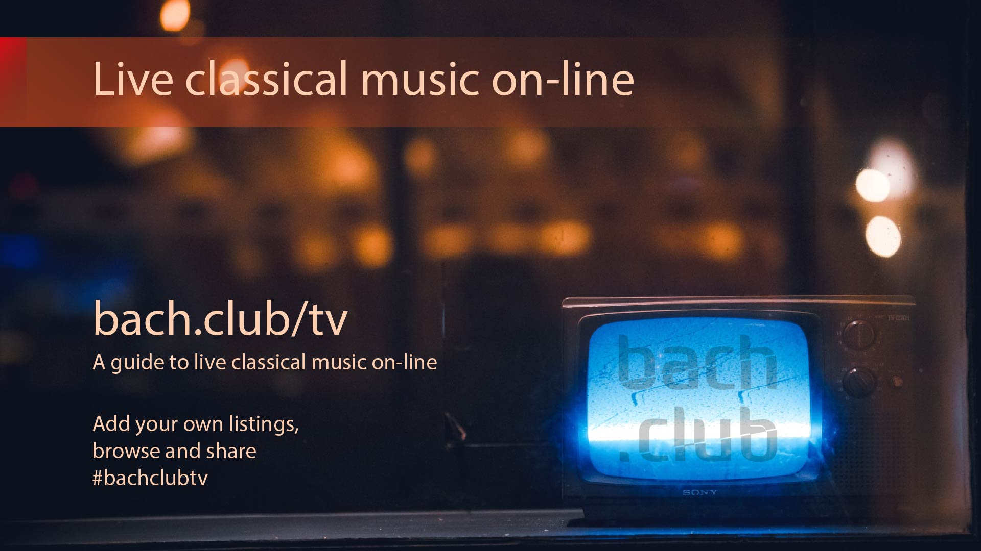 Bach Club TV