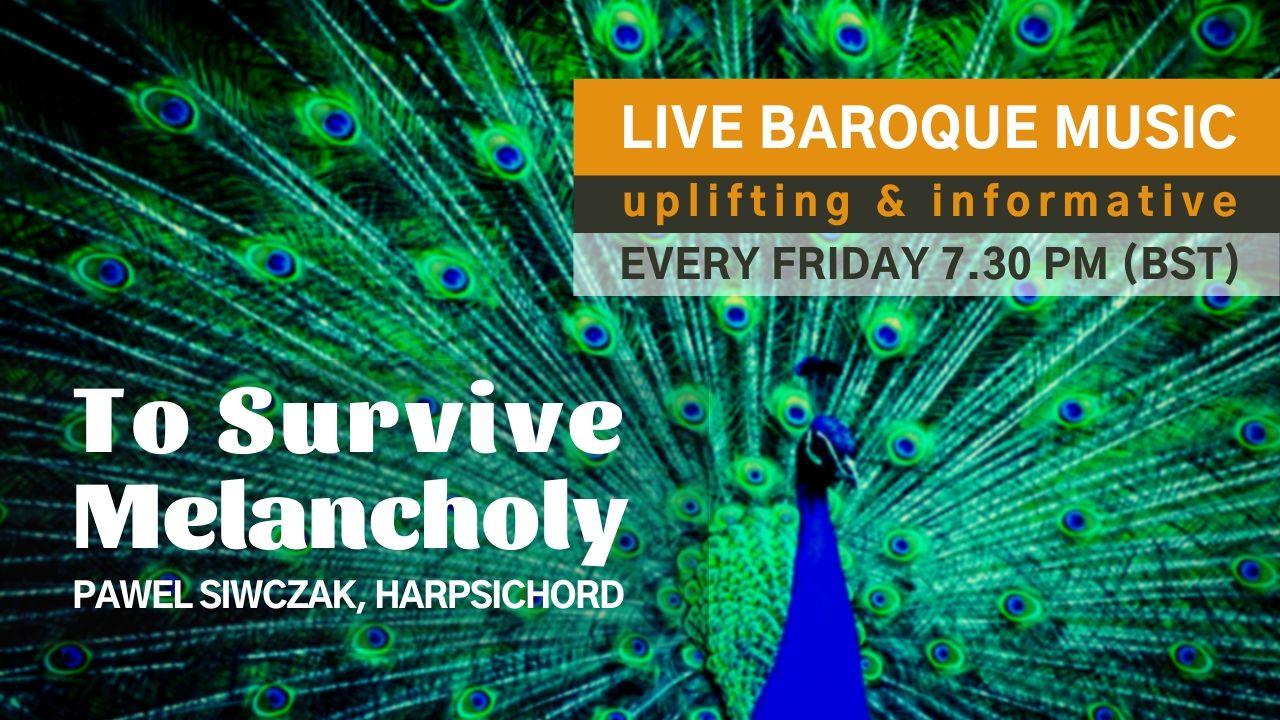 Pawel Siwczak, live baroque music online